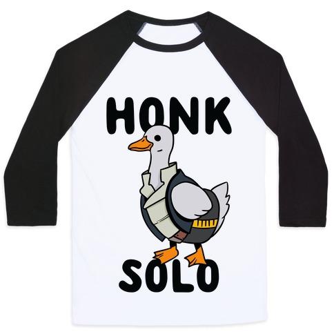 Honk Solo Baseball Tee