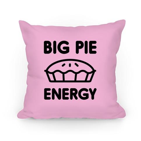 Big Pie Energy Pillow