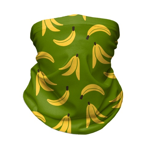 Simple Banana Pattern Neck Gaiter