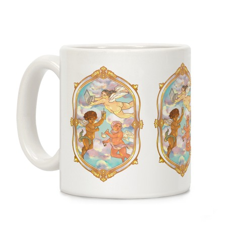 Modern Cherubs Coffee Mug