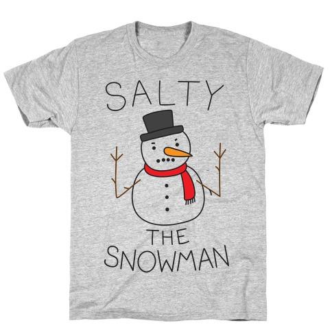 Salty The Snowman T-Shirt