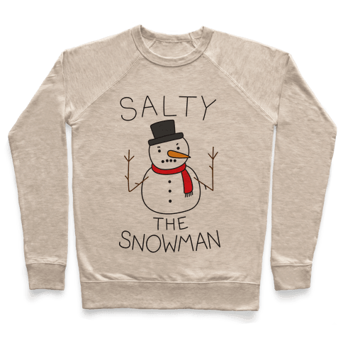 Salty The Snowman  Pullover