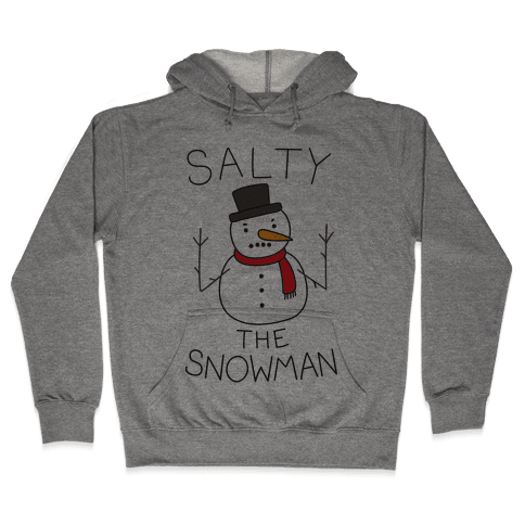 Salty The Snowman  Hooded Sweatshirt