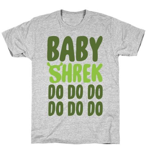 Baby Shrek Do Do Do Baby Shark Parody T-Shirt