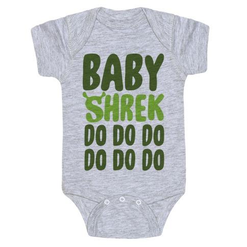 Baby Shrek Do Do Do Baby Shark Parody Baby Onesy