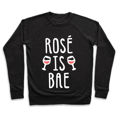 Ros Is Bae (White) Pullover
