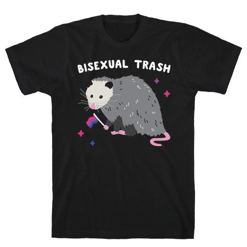 Bisexual Trash Opossum T-Shirt