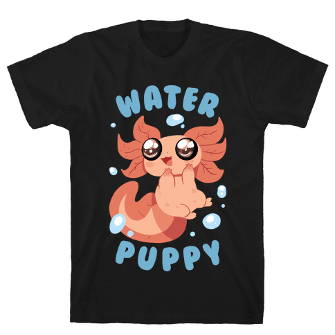 Water Puppy Axolotl Mens T-Shirt