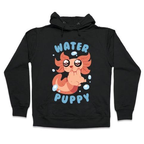 Water Puppy Axolotl Hooded Sweatshirt