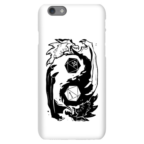 Dungeons and Dragons Yin Yang Phone Case