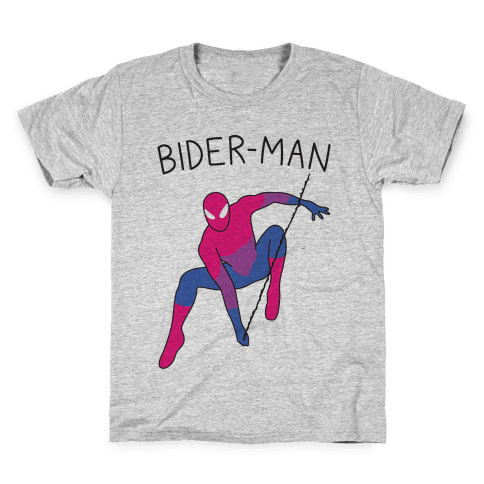 Bider-Man Parody Kids T-Shirt