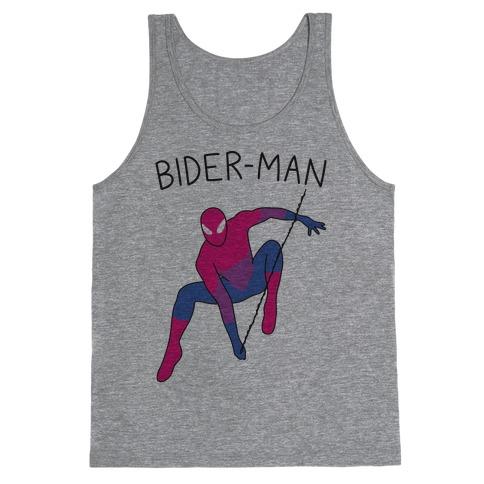 Bider-Man Parody Tank Top