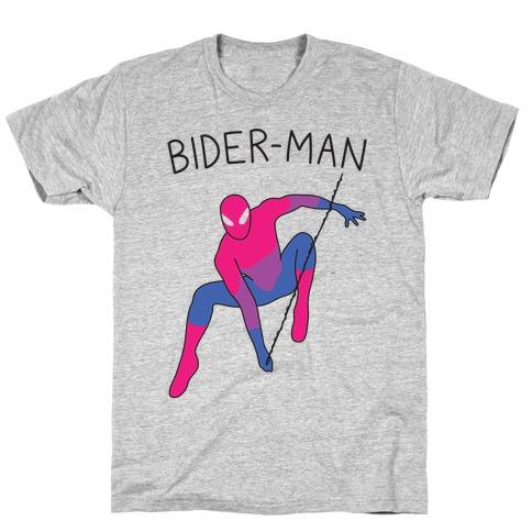 Bider-Man Parody T-Shirt