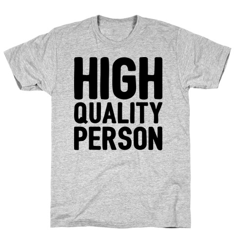 High-Quality Person Mens T-Shirt