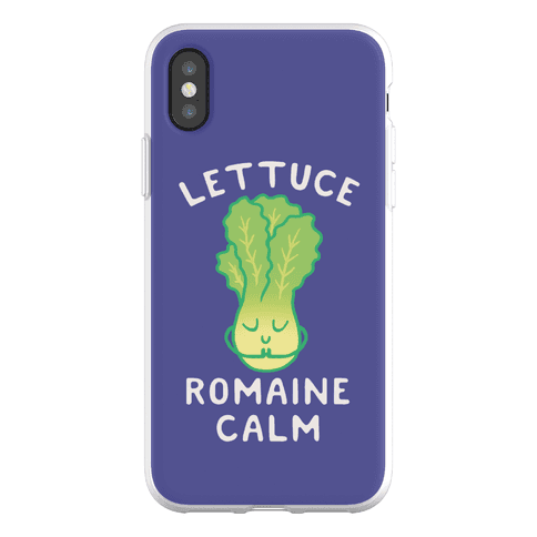 Lettuce Romaine Calm Phone Flexi-Case