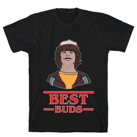 Best Buds Dustin Mens T-Shirt