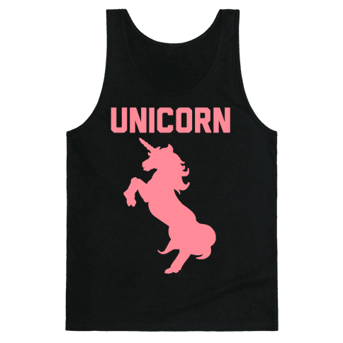 Unicorn Sister Pair 1 Tank Top