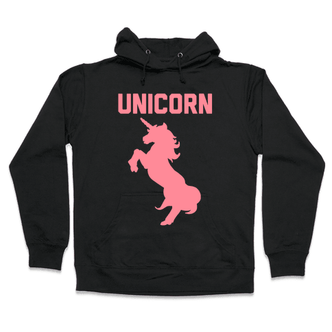 Unicorn Sister Pair 1 Hooded Sweatshirt