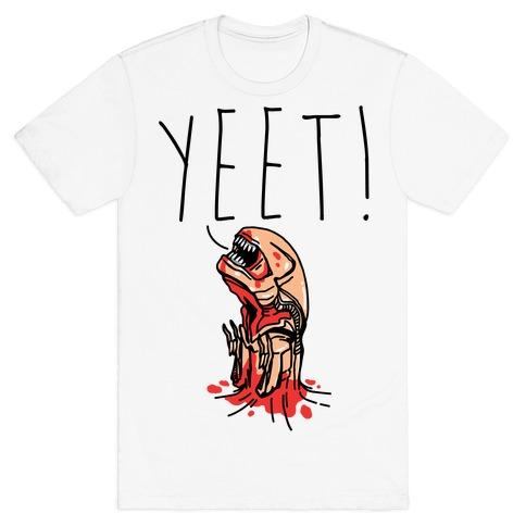 Yeet Alien Parody T-Shirt