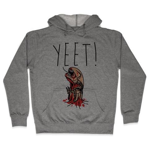 Yeet Alien Parody Hooded Sweatshirt