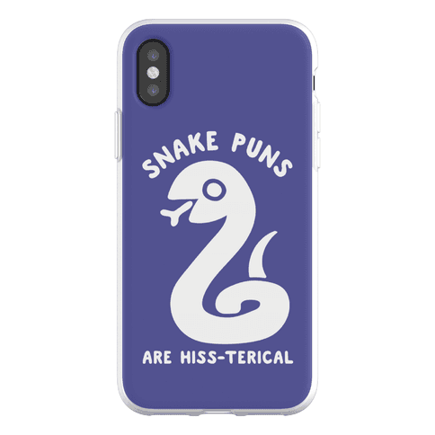 Snake Jokes Are Hiss-terical Phone Flexi-Case