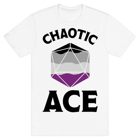 Chaotic Ace Mens T-Shirt