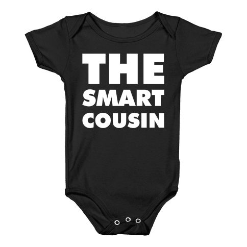 The Smart Cousin Baby Onesy