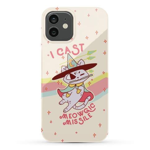 I Cast Meowgic Missile Phone Case