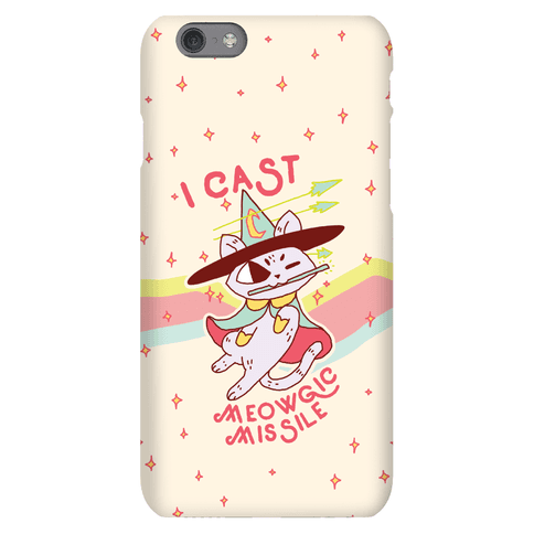 I Cast Meowgic Missile Phone Case