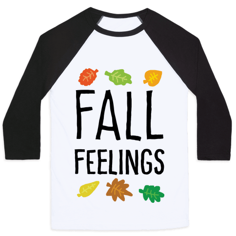Fall Feelings Baseball Tee