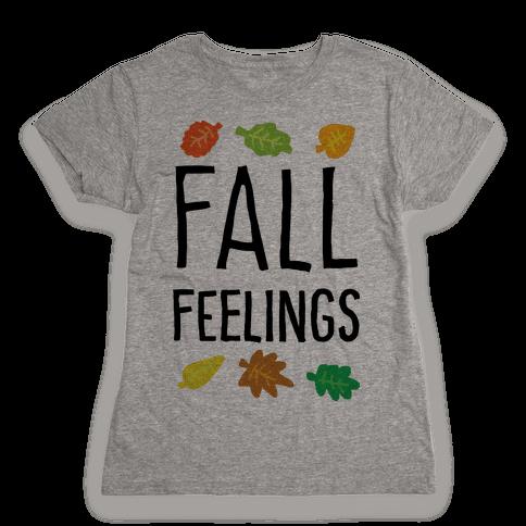 Fall Feelings Womens T-Shirt