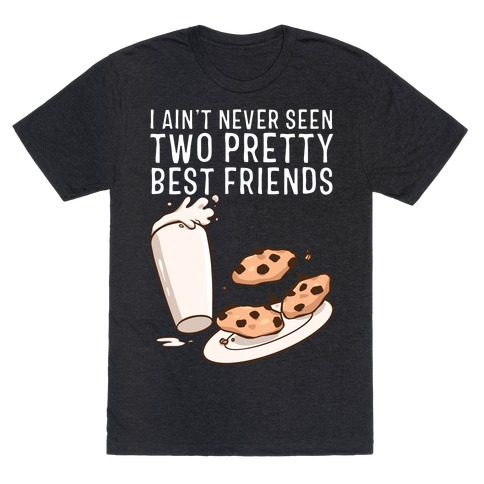 Best Friends Milk N' Cookies T-Shirt