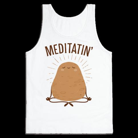 Meditatin' Tank Top