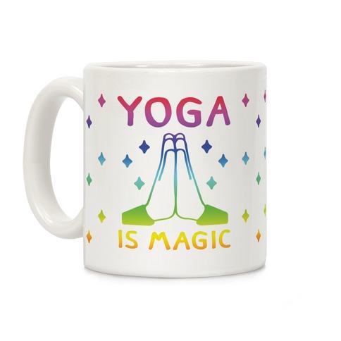 Yoga Is Magic Coffee Mug