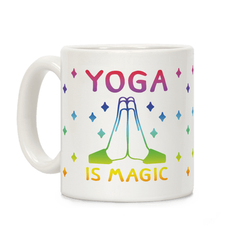 Yoga Is Magic Coffee Mug