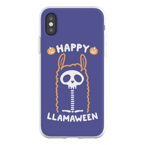 Happy Llamaween Phone Flexi-Case