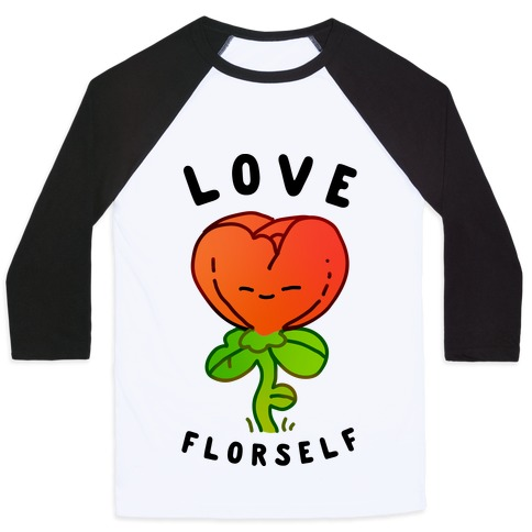Love Florself Baseball Tee