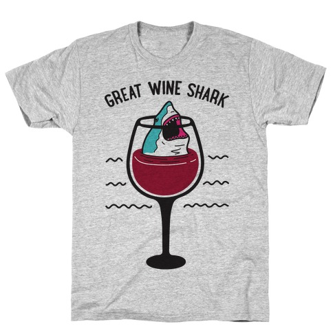 Great Wine Shark T-Shirt