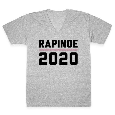 Rapinoe 2020 V-Neck Tee Shirt