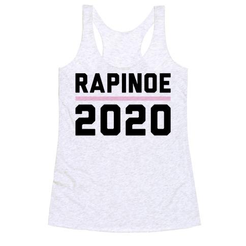 Rapinoe 2020 Racerback Tank Top