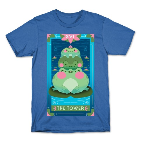 The Tower of Frogs Mens/Unisex T-Shirt