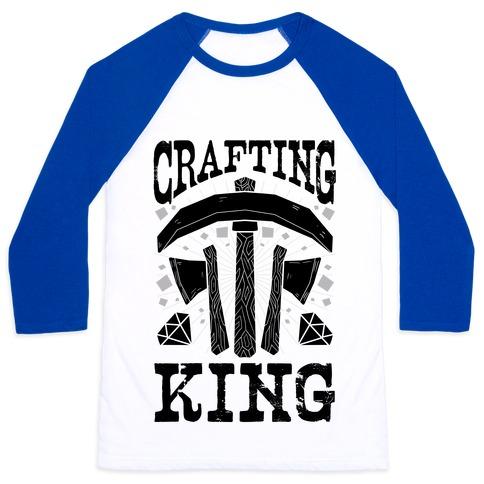 Crafting King Baseball Tee