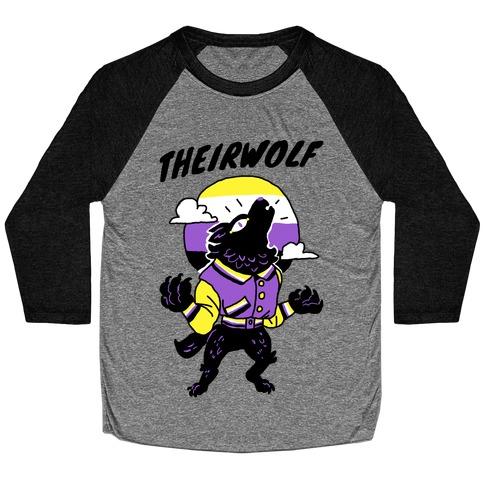 Theirwolf Baseball Tee