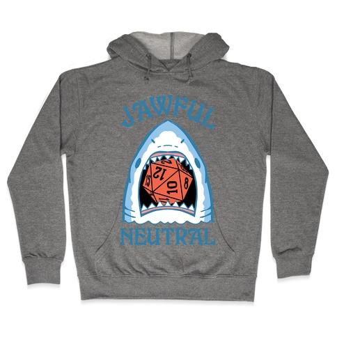 Jawful Neutral Hooded Sweatshirt