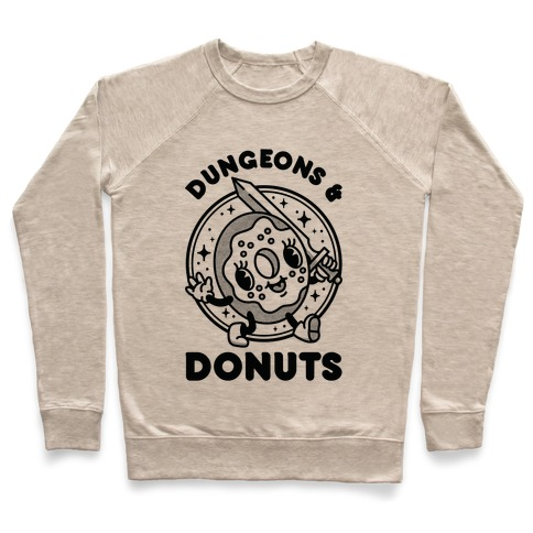 Dungeons and Donuts Pullover