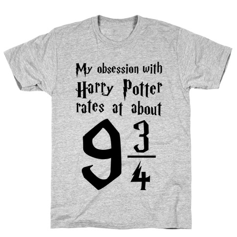 Harry Potter Obession Mens T-Shirt