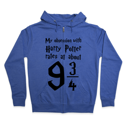 Harry Potter Obession Zip Hoodie