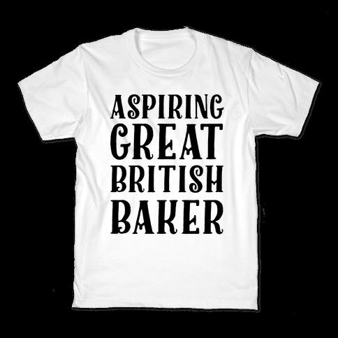 Aspiring Great British Baker Kids T-Shirt