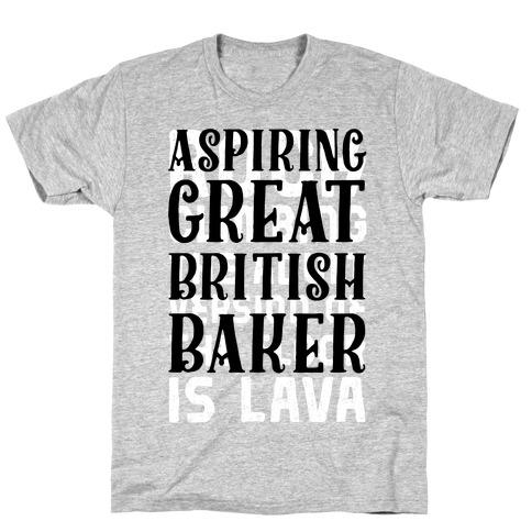 Aspiring Great British Baker T-Shirt