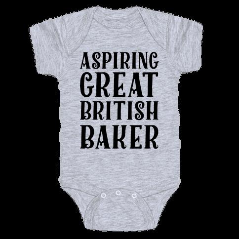 Aspiring Great British Baker Baby Onesy